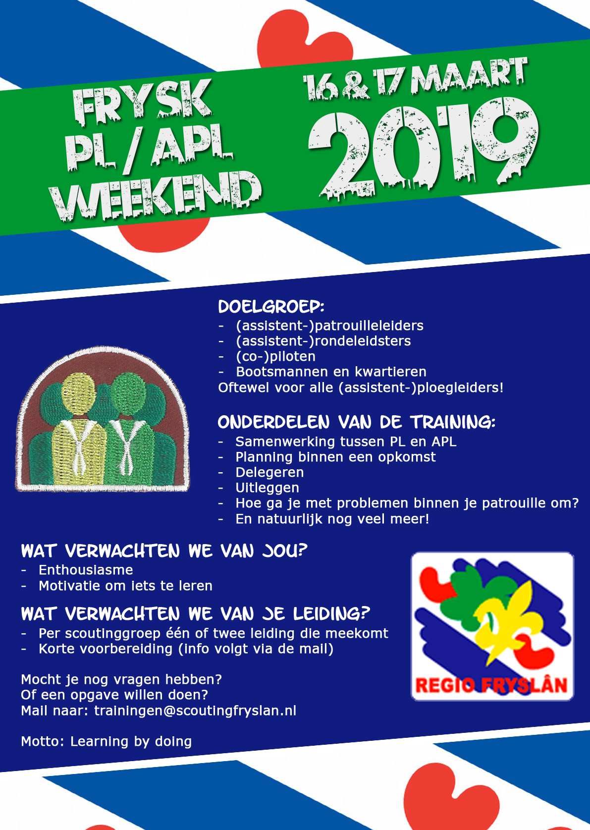 Flyer Fries APLweekend